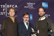 """(L-R) Sean Nelson, John Hodgman and Steven Schardt attend the premiere of """"Treatment"""" during the 2011 Tribeca Film Festival at AMC Loews Village 7 on April 22, 2011 in New York City."""