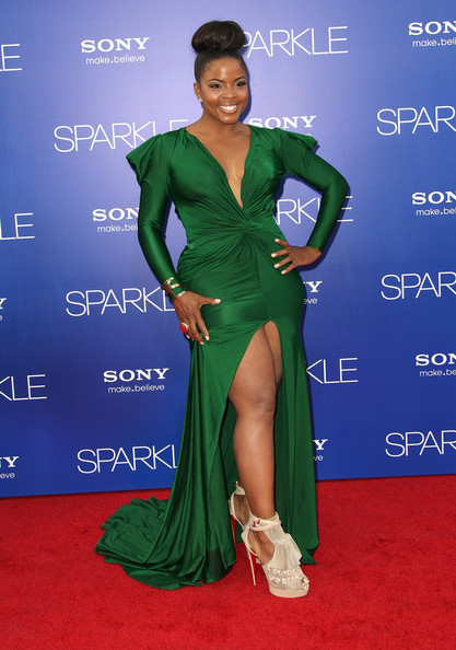 "Actress Bre'ly Evans attends the Premiere Of Tri-Star Pictures' ""Sparkle"" at Grauman's Chinese Theatre on August 16, 2012 in Hollywood, California."