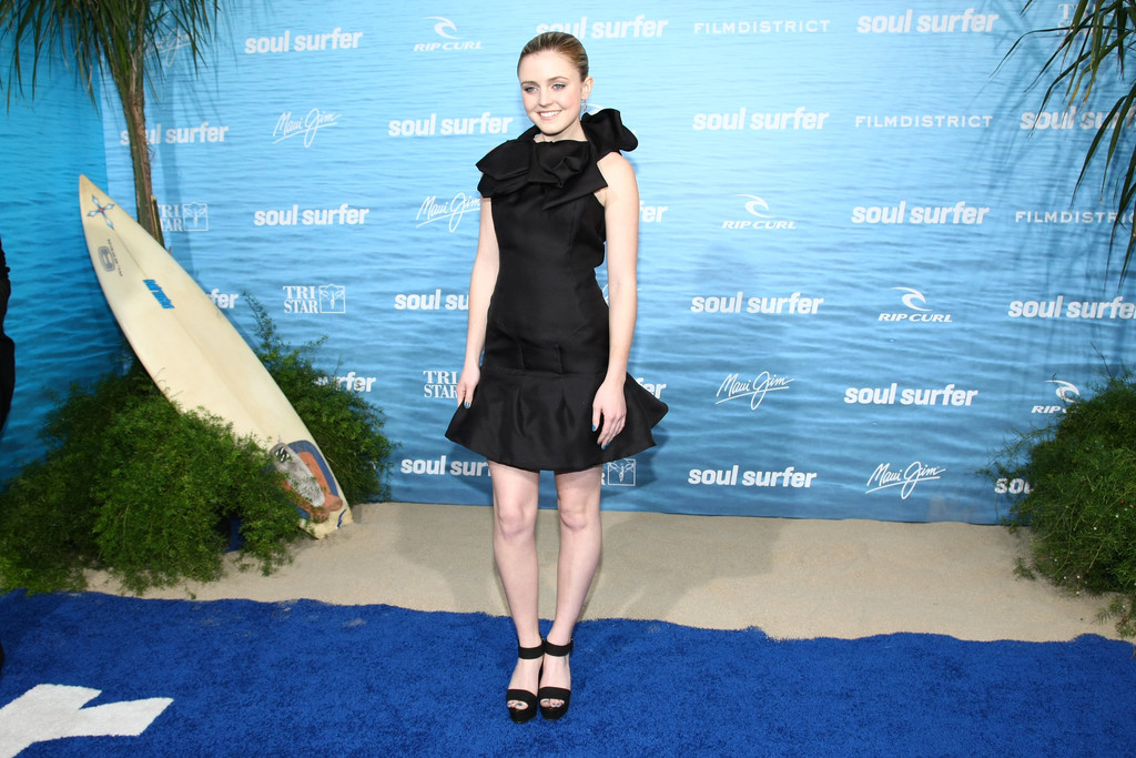 "Actress In Soul Surfer: Lorraine Nicholson In Premiere Of TriStar Pictures' ""Soul"