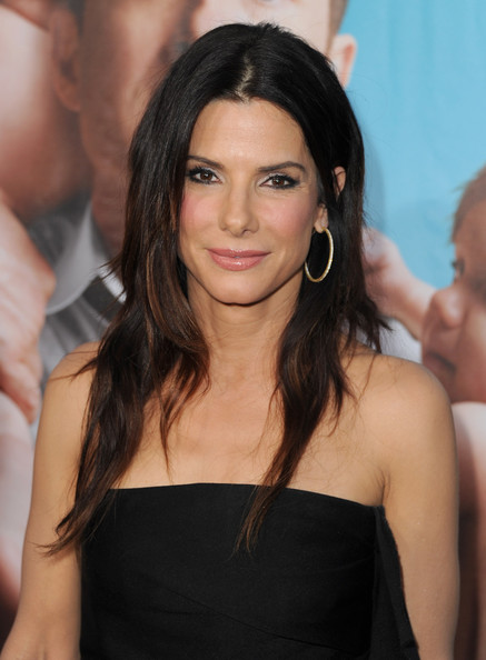 "Actress Sandra Bullock arrives at the premiere of Universal Pictures' ""The Change-Up"" held at the Regency Village Theatre on August 1, 2011 in Los Angeles, California."