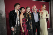 "Robert Sheehan, Jihae, Hera Hilmar, Stephen Lang, and Leila George arrive at the premiere Of Universal Pictures' ""Mortal Engines"" at Regency Village Theatre on December 5, 2018 in Westwood, California."