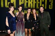 "Hannah Fairlight, Ruby Rose, Andy Allo, Brittany Snow and Matt Lanter attend the premiere of Universal Pictures' ""Pitch Perfect 3"" at Dolby Theatre on December 12, 2017 in Hollywood, California."