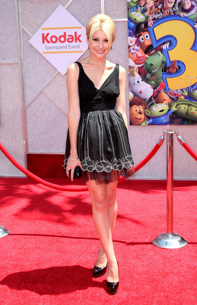 """Actress Chelsea Staub arrives at premiere of Walt Disney Pictures' """"Toy Story 3"""" held at El Capitan Theatre on June 13, 2010 in Hollywood, California."""