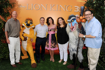 "Bob Chapek Premiere Of Walt Disney Studios' ""The Lion King 3D"" - Red Carpet"
