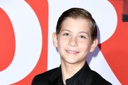 """Jacob Tremblay attends the premiere of Warner Bros Pictures' """"Doctor Sleep"""" at Westwood Regency Theater on October 29, 2019 in Los Angeles, California."""