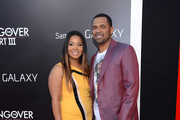 Actor Mike Epps (R) and wife Mechelle McCain attend the premiere of Warner Bros. Pictures' 'The Hangover Part III' on May 20, 2013 in Westwood, California.