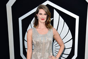 """Actress Heather Doerksen arrives at the premiere of Warner Bros. Pictures' and Legendary Pictures' """"Pacific Rim"""" at Dolby Theatre on July 9, 2013 in Hollywood, California."""