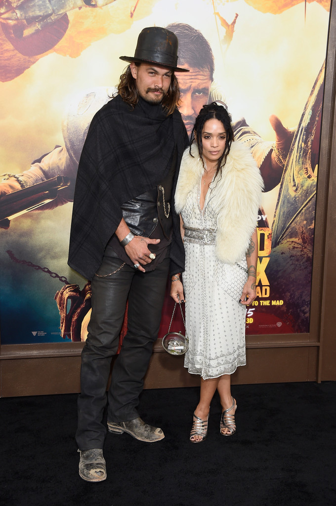 Lisa Bonet, Jason Momoa - Jason Momoa Photos - Premiere Of ...