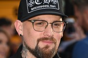 """Benji Madden arrives for the world premiere of """"It"""" on September 5, 2017 at the TCL Chinese Theatre in Hollywood, California. / AFP PHOTO / Robyn Beck"""