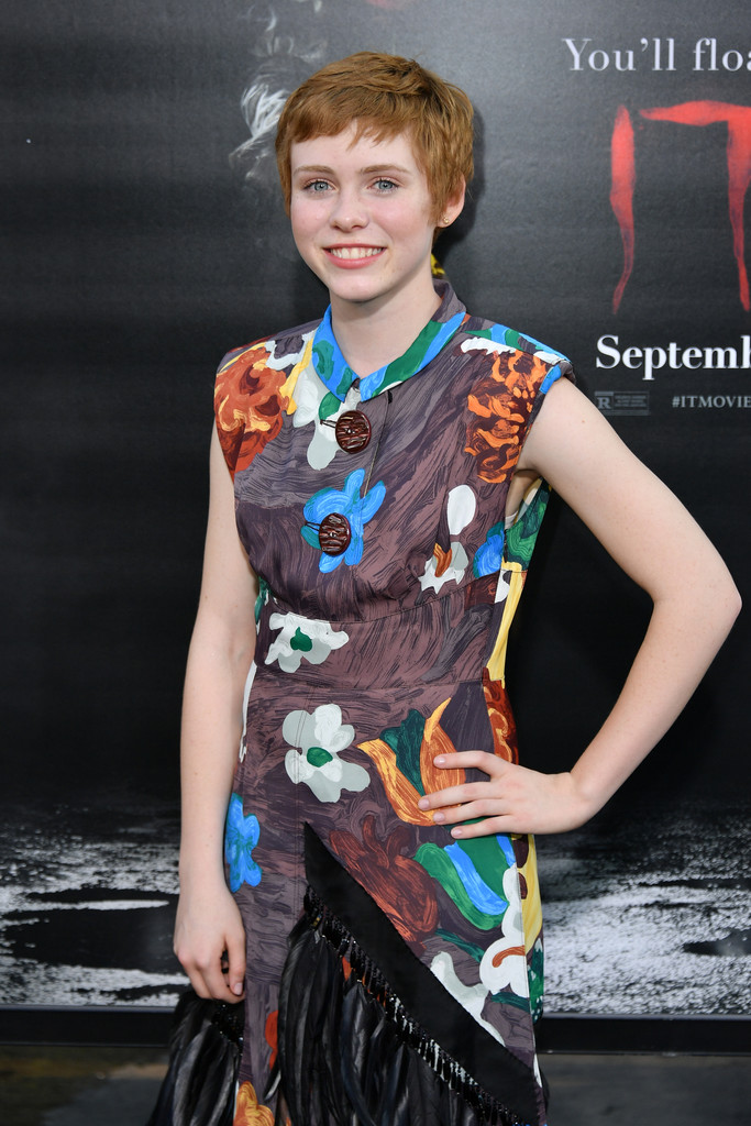 'It' Star Sophia Lillis Isn't Afraid of Clowns, But 'Sharp Objects' Are Another Story