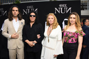 Nick Simmons, Gene Simmons, Shannon Tweed, Sophie Simmons attends the premiere of Warner Bros. Pictures' 'The Nun' at TCL Chinese Theatre on September 4, 2018 in Hollywood, California.