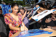 "Zendaya attends the premiere of Warner Bros. Pictures' ""Smallfoot"" at the Regency Village Theatre on September 22, 2018 in Westwood, California."
