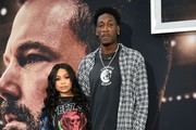 """Brittany Sanders and Larry Sanders attend the premiere of Warner Bros Pictures' """" The Way Back"""" at Regal LA Live on March 01, 2020 in Los Angeles, California."""