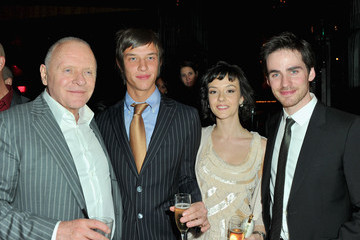 """Anthony Hopkins Colin O'Donoghue Premiere Of Warner Bros. """"The Rite"""" - After Party"""