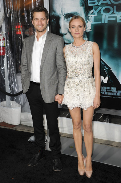 "Actress Diane Kruger (R) and actor Joshua Jackson arrive at the Los Angeles premiere of ""Unknown"" at the Mann Village Theater on February 16, 2011 in Westwood, California."