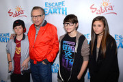 Larry King and Cannon King Photos Photo