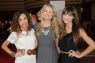 """Denyse Tontz Kelli Goss Premiere Of The Weinstein Company's """"Hoodwinked Too! Hood Vs. Evil In 3D"""" - Red Carpet"""