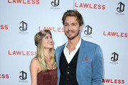 """Actor Chad Michael Murray and Kenzie Dalton arrive at the Premiere of the Weinstein Company's """"Lawless"""" at ArcLight Cinemas on August 22, 2012 in Hollywood, California."""