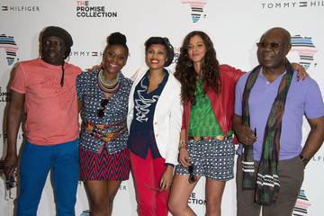 Awa Imani 'Preppy with a Twist African Event' - Tommy Hilfiger New Collection Launch