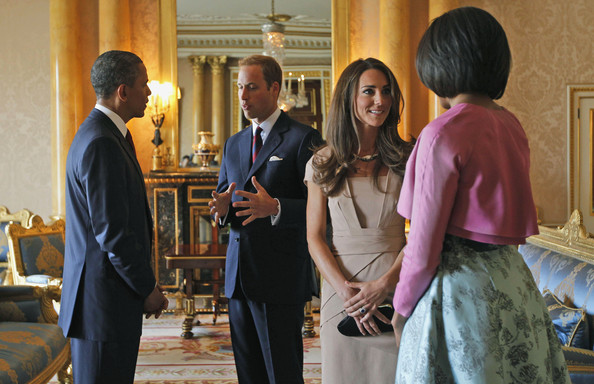 William y Catherine, Duques de Cambridge President+Barack+Obama+Visits+UK+Day+One+GqNO6cSSTsfl