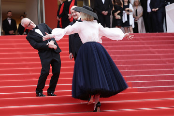 President of the Cannes Film Festival Pierre Lescure 'Once Upon A Time In Hollywood' Red Carpet - The 72nd Annual Cannes Film Festival