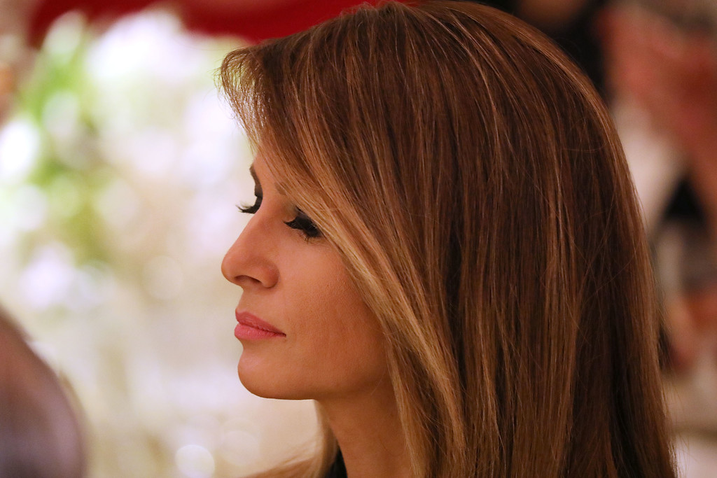 melania trump president and melania trump host governors ball at the white house