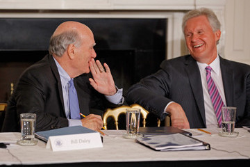 William Daley President Obama Meets With Council On Jobs And Competitiveness In White House
