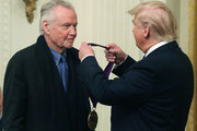 President Trump And First Lady Melania Present National Arts and Humanities Medals
