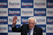 Democratic presidential candidate Sen. Bernie Sanders (I-VT) speaks at a news conference at the Doubletree Hotel March 02, 2020 in Salt Lake City, Utah. Sanders is campaigning in Utah and Minnesota the day before Super Tuesday, when 1,357 Democratic delegates in 14 states across the country will be up for grabs.
