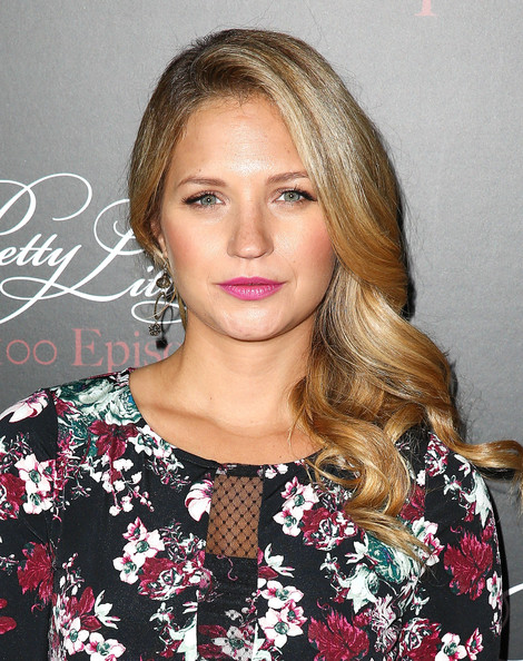 vanessa ray actress vanessa ray attends the pretty little liars 100th