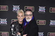 Frankie Grande and Pat Towne attend Preview Of Rock of Ages Hollywood At The Bourbon Room on December 18, 2019 in Hollywood, California.