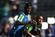 Arturo Vidal and Paul Pogba Photos Photo