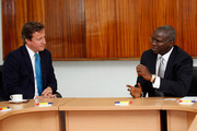 David Cameron Babatunde Fashola Photos Photo