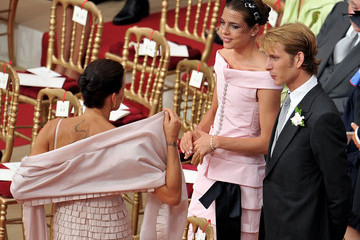 Prince Andrea Casiraghi Monaco Royal Wedding - The Religious Wedding Ceremony