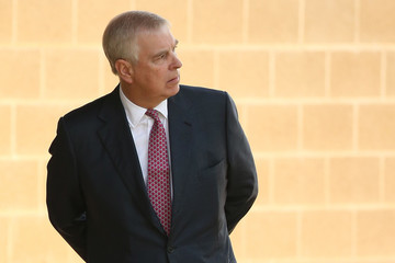Prince Andrew The Duke of York Prince Andrew Visits Murdoch University