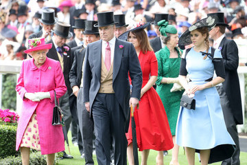 Prince Andrew Princess Beatrice Royal Ascot 2017 - Day 3 - Ladies Day