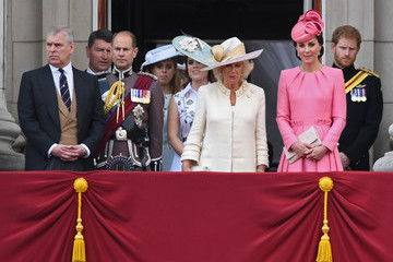 Prince Andrew Princess Beatrice Trooping the Colour 2017