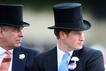 Prince Andrew Royal Ascot: Day 3