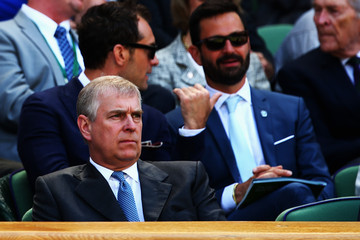 Prince Andrew Day Eleven: The Championships - Wimbledon 2014