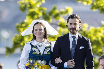 Prince Carl Philip National Day in Sweden 2017
