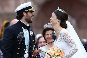 Prince Carl Philip Departures & Cortege: Wedding of Prince Carl Philip and Princess Sofia of Sweden