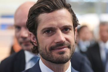 Prince Carl Philip Prince Carl Philip Of Sweden Visits Hannover Messe 2019