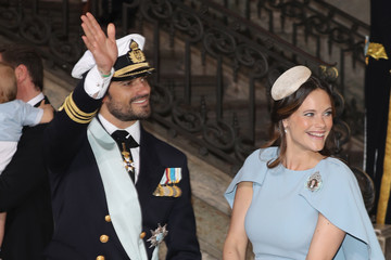 Prince Carl Philip Christening of Prince Oscar of Sweden