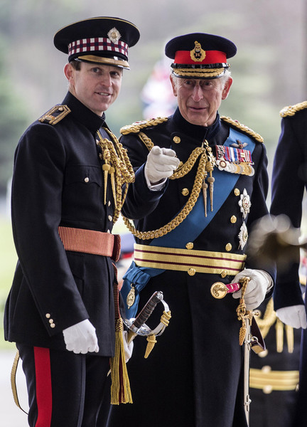 Prince Charles Attends the Sovereigns Parade at Sandhurst
