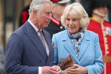 Prince Charles The Queen & Duke of Edinburgh Carry Out Engagements in Windsor on Her Majesty's 90th Birthday