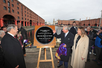 Prince Charles The Prince Of Wales And The Duchess Of Cornwall Visit Liverpool
