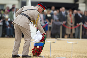 Prince Charles Britain Commemorates the 70th Anniversary of VJ Day