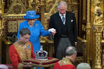 Prince Charles The State Opening Of Parliament 2017