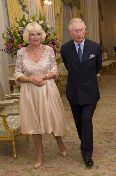 Camilla, Duchess of Cornwall and Prince Charles, Prince of Wales attend a State Dinner at the Presidential Palace on October 29, 2014 in Bogota, Colombia. The Royal Couple are on a four day visit to Colombia as part of a Royal tour to Colombia and Mexico. After fifty years of armed conflict in Colombia the theme for the visit is Peace and Reconciliation.