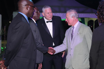 Prince Charles The Prince Of Wales Visits Saint Lucia